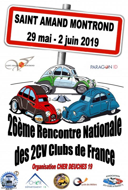 Rencontre internationale 2cv 2018